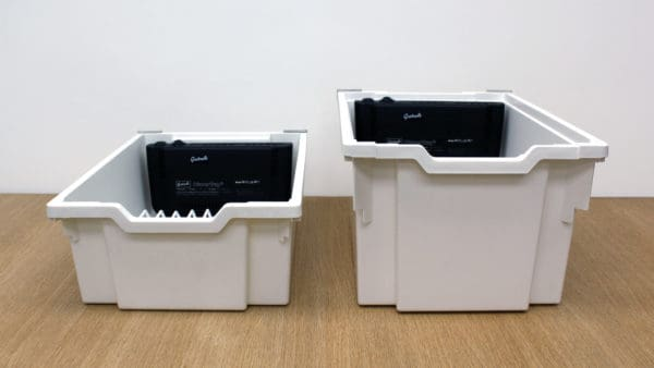 Gratnells PowerTray comes in two sizes